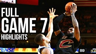 getlinkyoutube.com-Warriors vs Cavaliers: Game 7 NBA Finals - 06.19.16 Full Highlights