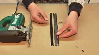 getlinkyoutube.com-самодельная пилка для электро лобзика из ножовочного полотна.