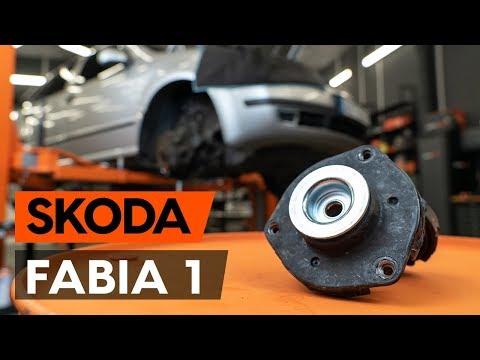 Как заменить опору передней стойки амортизатора SKODA FABIA 1 (6Y5) [ВИДЕОУРОК AUTODOC]