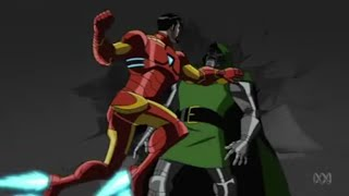 getlinkyoutube.com-Doctor Doom wants to talk with Iron Man