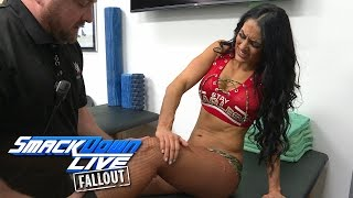 getlinkyoutube.com-Is Nikki Bella OK following the Falls Count Anywhere Match?: SmackDown LIVE Fallout, Feb. 21, 2017