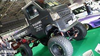 getlinkyoutube.com-(4K)modified Pickup Truck リフトアップ・カスタム軽トラ - 大阪オートメッセ2016