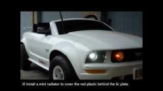 getlinkyoutube.com-48 volt Mustang power wheels