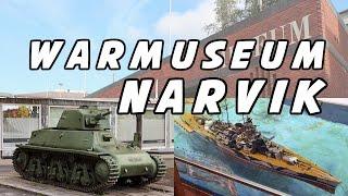 Warmuseum in NARVIK ✪ Norwegen ✪ Kriegsmuseum