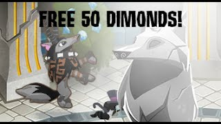 getlinkyoutube.com-AJ: How to get 50 free diamonds!