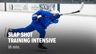 getlinkyoutube.com-iTrain Hockey Slap Shot Training Intensive - Train The Trainers + Practice Plan