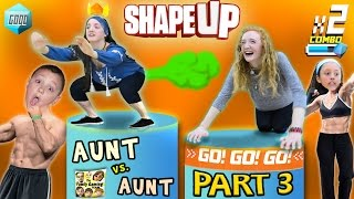 getlinkyoutube.com-FGTEEV Aunts Work Out! SHAPE UP Pt. 3:  Fitness Challenge Competition Family Fun!