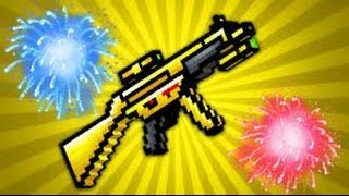 getlinkyoutube.com-Pixel Gun 3d - How to get The Golden Friend - Update 10.3.2 [HD]