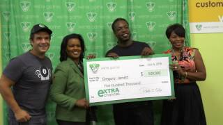 getlinkyoutube.com-Suffolk man wins $500,000 in eXTRA Chances Promotion drawing