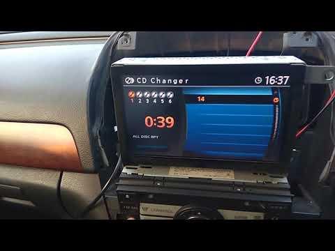 Nissan ... Sylphy 2006 Yatour и магнитола Clarion PN4084L