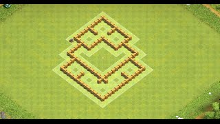 TH5 Best Defensive Base -Anti Giant and Healer