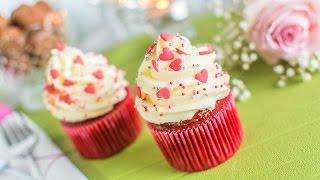 getlinkyoutube.com-Cupcake Red Velvet - Especial San Valentín   Quiero Cupcakes!