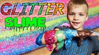 getlinkyoutube.com-SUPER GLITTERY GLITTER SLIME