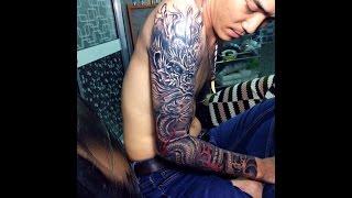 getlinkyoutube.com-Hướng dẫn cách xăm hình tattoo,Hình xăm Rồng, Dragon 3D , Tin tattoo can tho dt 0909667090