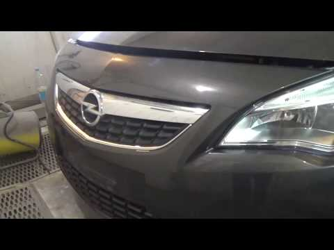 Как снять-поставить передний бампер, Opel Astra J.
