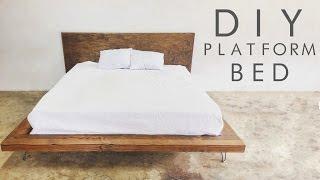 getlinkyoutube.com-DIY Modern Platform Bed | Modern Builds EP. 48
