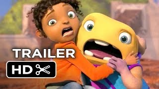 Home Official Trailer #1 (2015) - Jennifer Lopez, Rihanna Animated Movie HD width=