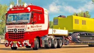 Mercedes Big Stars ETS2 (Euro Truck Simulator 2)
