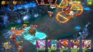 getlinkyoutube.com-Magic Rush Crystal Dungeon Level 92