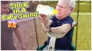 getlinkyoutube.com-😯 DARE DEVIL GRANDPARENTS 😯 WILL SOMEONE GET HURT?! 😯 SWING FAIL