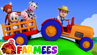 getlinkyoutube.com-Old MacDonald had a farm | Nursery rhymes | 3D rhymes | Children song