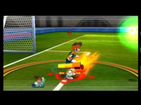 [Inazuma Eleven Striker] my own team vs FFI (Football Frontier International) [3th cup]