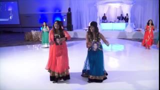 getlinkyoutube.com-Bhavesh and Rushida - Mayuri Reception Dance