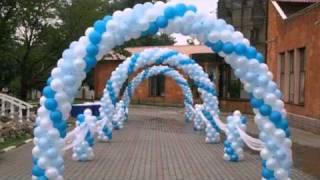 getlinkyoutube.com-Оформление праздников воздушными шарами