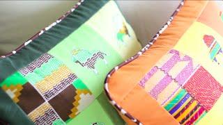 Menjahit Cording atau Tali Pada Sarung Bantal