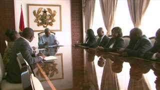 New MD of Barclays Bank Ghana calls on President John Mahama