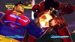 getlinkyoutube.com-Street Fighter X Tekken - Superman x Deathstroke VS Deadpool x Deathstroke  [1080p] TRUE-HD QUALITY