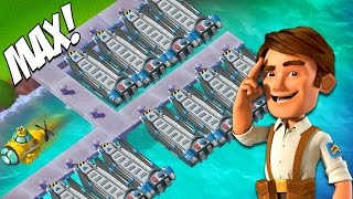 getlinkyoutube.com-Clean My Map & Chat! MAX LANDING CRAFT! Boom Beach Old School Let's Play!
