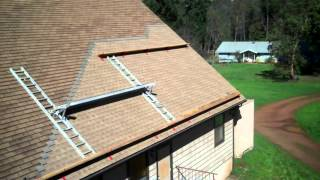 getlinkyoutube.com-How to Apply Roofing to a steep roof