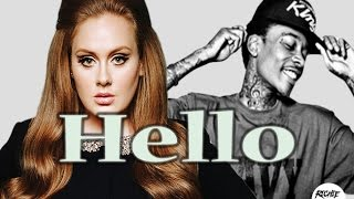 "getlinkyoutube.com-Wiz Khalifa Feat. Adele Hello ""Hip Hop"" Trap Remix- Let's Get High (Prod. Kin Rich)"