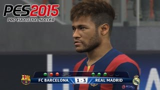 getlinkyoutube.com-Penalty Shootout Barcelona vs Real Madrid PES 2015