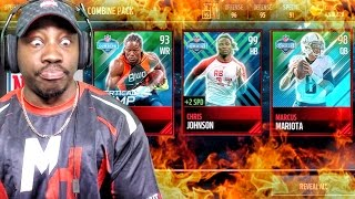 COMBINE PACK OPENING & 99 CHRIS JOHNSON! Madden Mobile 17 Gameplay Ep. 26