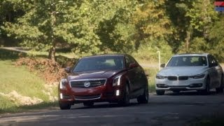 getlinkyoutube.com-Showdown - 2013 Cadillac ATS 2.0T vs. 2013 BMW 328i - CAR and DRIVER