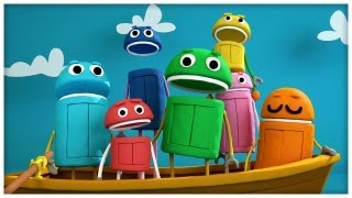"""getlinkyoutube.com-""""Row Your Boat"""" Classic Songs by StoryBots"""