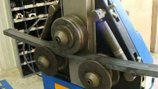 "getlinkyoutube.com-2"" x 1"" C-Channel Bent on Ercolina CE35 Angle roll / Section Bender_Visit www.ercolina-usa.com"