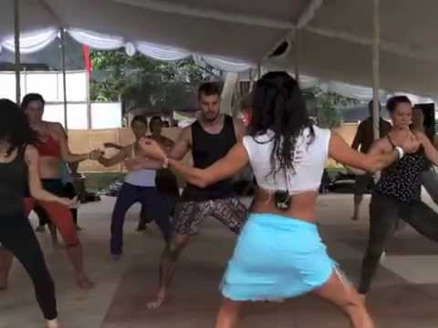 Hot n Humid JAMA Latin dance Workshop at Bali Spirit Festival '14