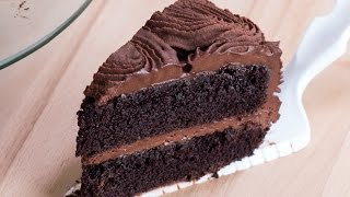 getlinkyoutube.com-Chocolate Rose Cake Recipe