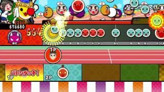 getlinkyoutube.com-【太鼓の達人 WiiU 3代目】オートとバトンゾーン「ギリギリ」でノるどん2000をやってみた