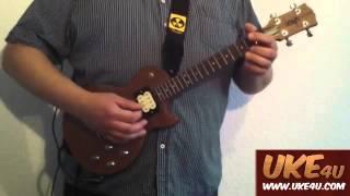 getlinkyoutube.com-Worried Man Blues - Electric Ukulele Instrumental