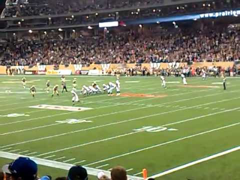 Winnipeg Blue Bombers vs Ottawa REDBLACKS last mintue of Bomer Win IGF