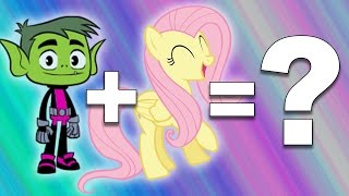 getlinkyoutube.com-My Little Pony + Teen Titans Go! = ???