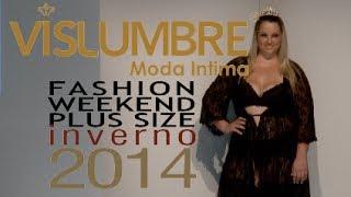 getlinkyoutube.com-Vislumbre - Desfile Fashion Weekend Plus Size INVERNO 2014 - 9ª Edição