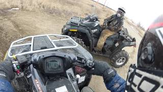 getlinkyoutube.com-BRUTEFORCE 750 VS CAN-AM 650