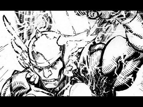 Drawing & Inking Thor: with Freddie Williams II