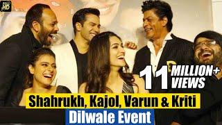getlinkyoutube.com-Dilwale Movie 2015 (HD) Promotions | Shahrukh,Kajol, Varun, Kriti | Trailer & Music Launch