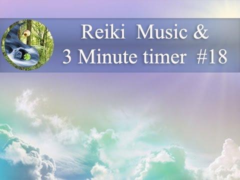 Reiki Music with 3 Minutes Bell: Reiki Timer, Tibetan bowl Meditation Music; Healing Music 💜